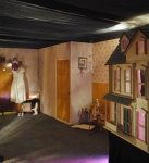 Spooky child's bedroom and dollshouse